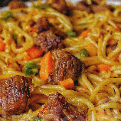 Spaghetti viande