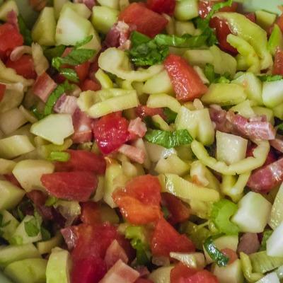 Salade cruidité de légume