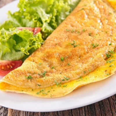 omelettes aux fines herbes