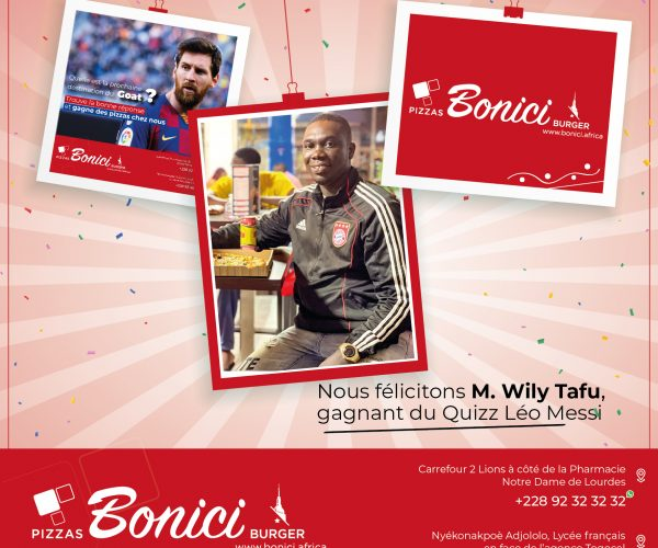 Congratulations to the winner of the quiz game Leo Messi